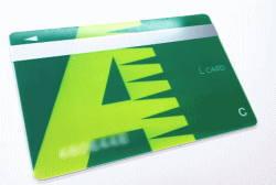 実際に検証のため発行したレイクALSAのカード写真